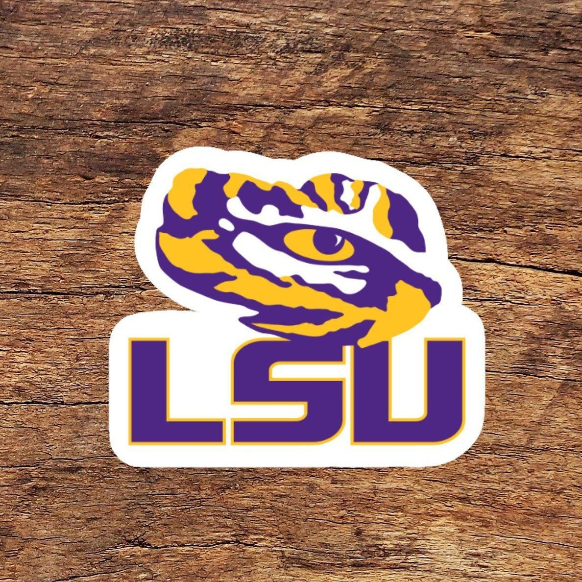 Excited To Share The Latest Addition To My Etsy Shop Louisiana State University Tigers Vinyl Sticker Peel And Stick Phone Decals Vinyl Sticker Vinyl Decals [ 1188 x 1188 Pixel ]