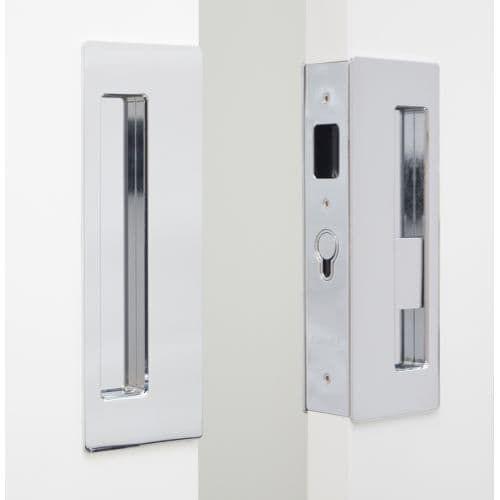 Cavilock Cl400d Pd 34 Magnetic Latching Privacy Double Door Pocket Door Set For 1 3 4 Door Thickness Pocket Doors Door Sets Double Doors