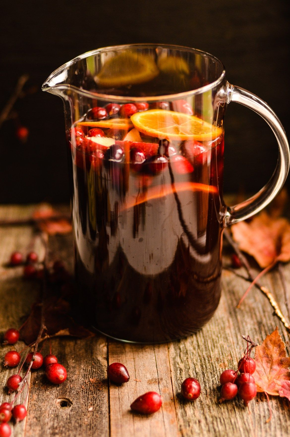 Must Sip: Holiday Spiced Sangria Recipe | beverages | Pinterest ...