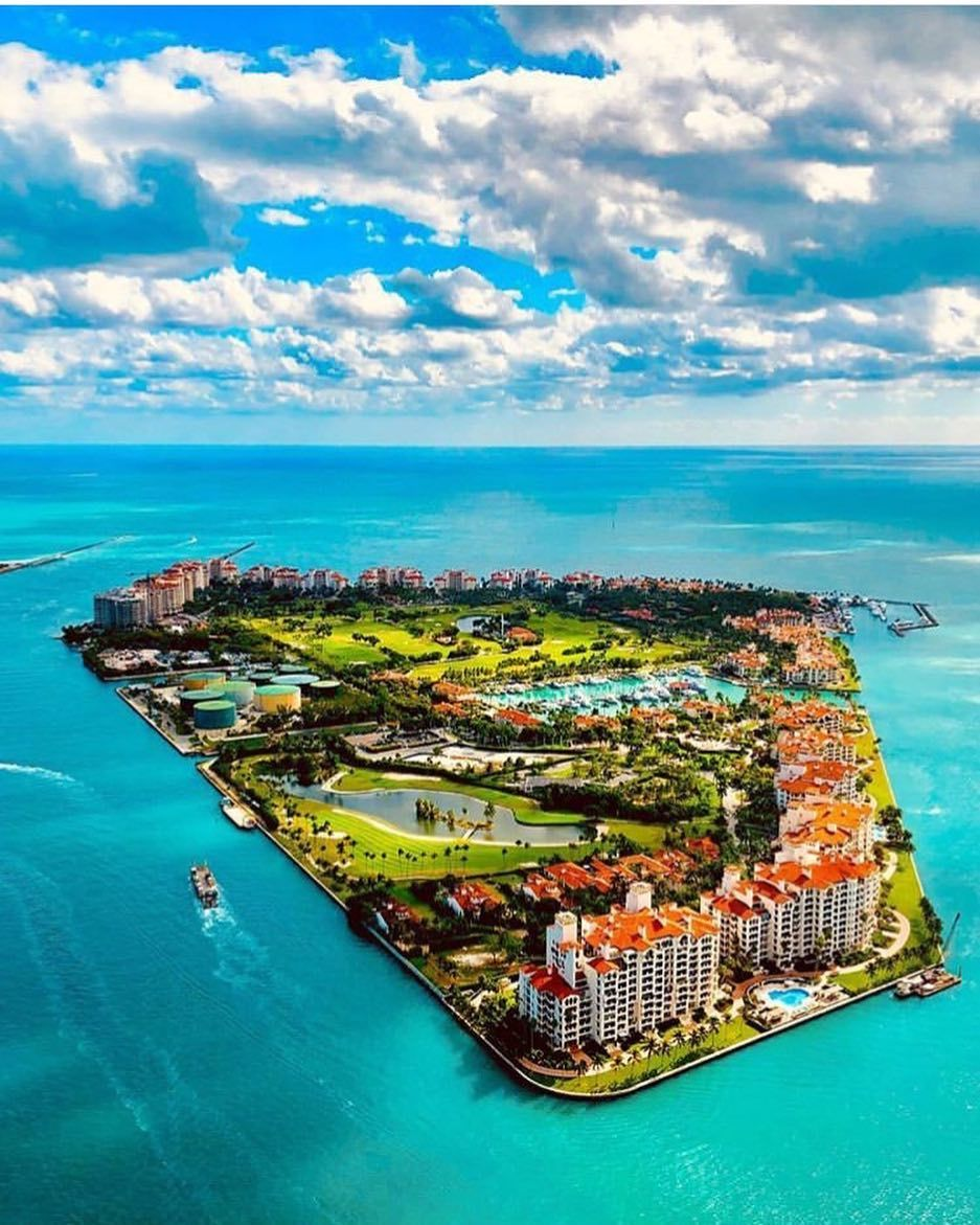 Private Island Beaches: Fisher Island, A Private Island Next To Miami Beach That
