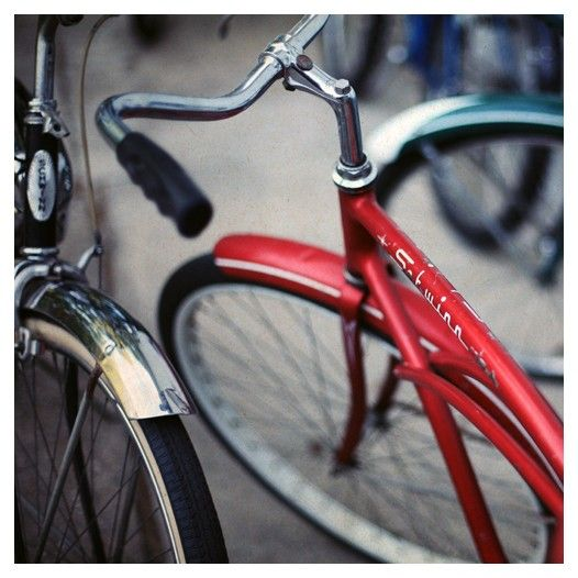 Bicycle Photography - Bikes - Signed Fine Art Photograph - Schwinn I - Bike Photograph - Summer
