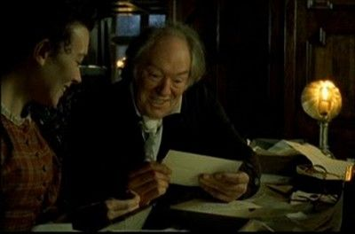 "Squire Hamley (Michael Gambon) in ""Wives and Daughters"""
