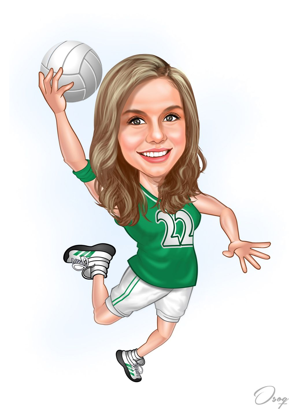 Girl Volleyball Cartoon Character Girl Cartoon Characters Girl Cartoon Cartoon Characters