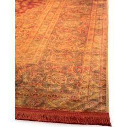 Photo of benuta Trends Teppich mit Print Siljan Beige/Orange 160×230 cm – Vintage Teppich im Used-Lookbenuta.