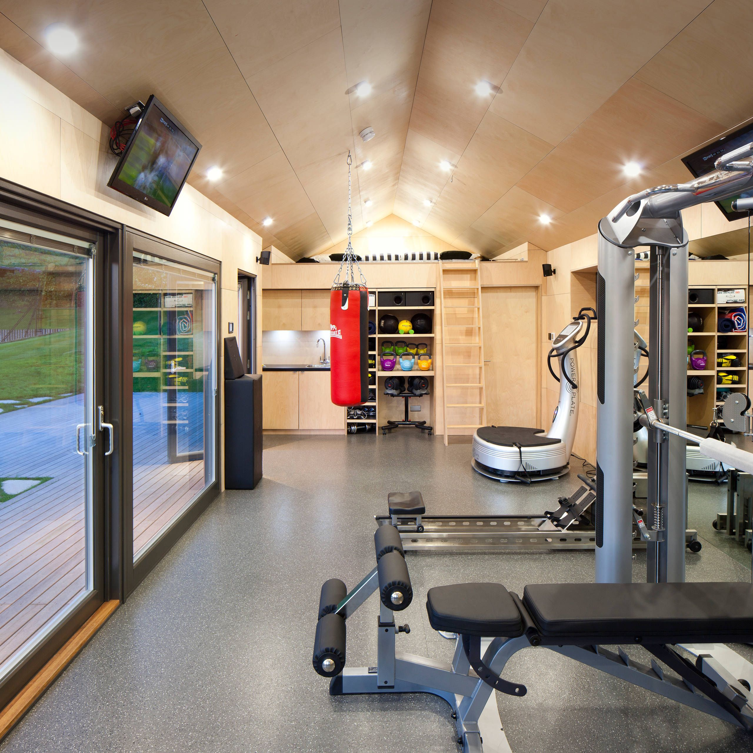 Photo of 35 Great Home Gym Designs