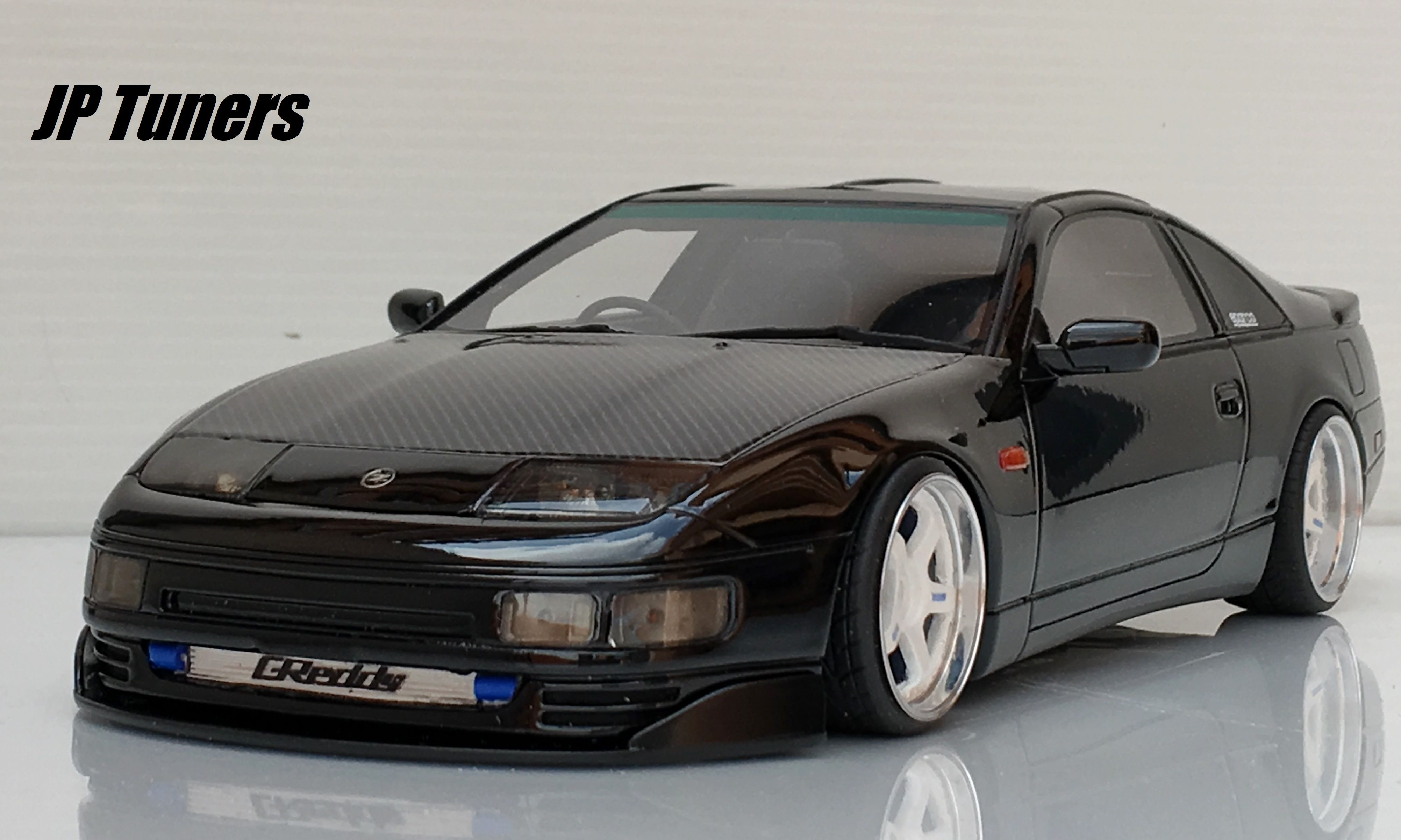 1 18 nissan 300zx twin turbo tuning jp tuners 300zx. Black Bedroom Furniture Sets. Home Design Ideas