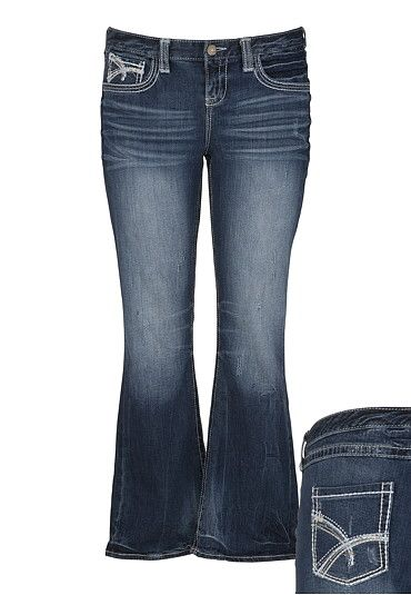4291e32be68 Maurices Premium Studded Medium Wash Jeans available at  Maurices ...