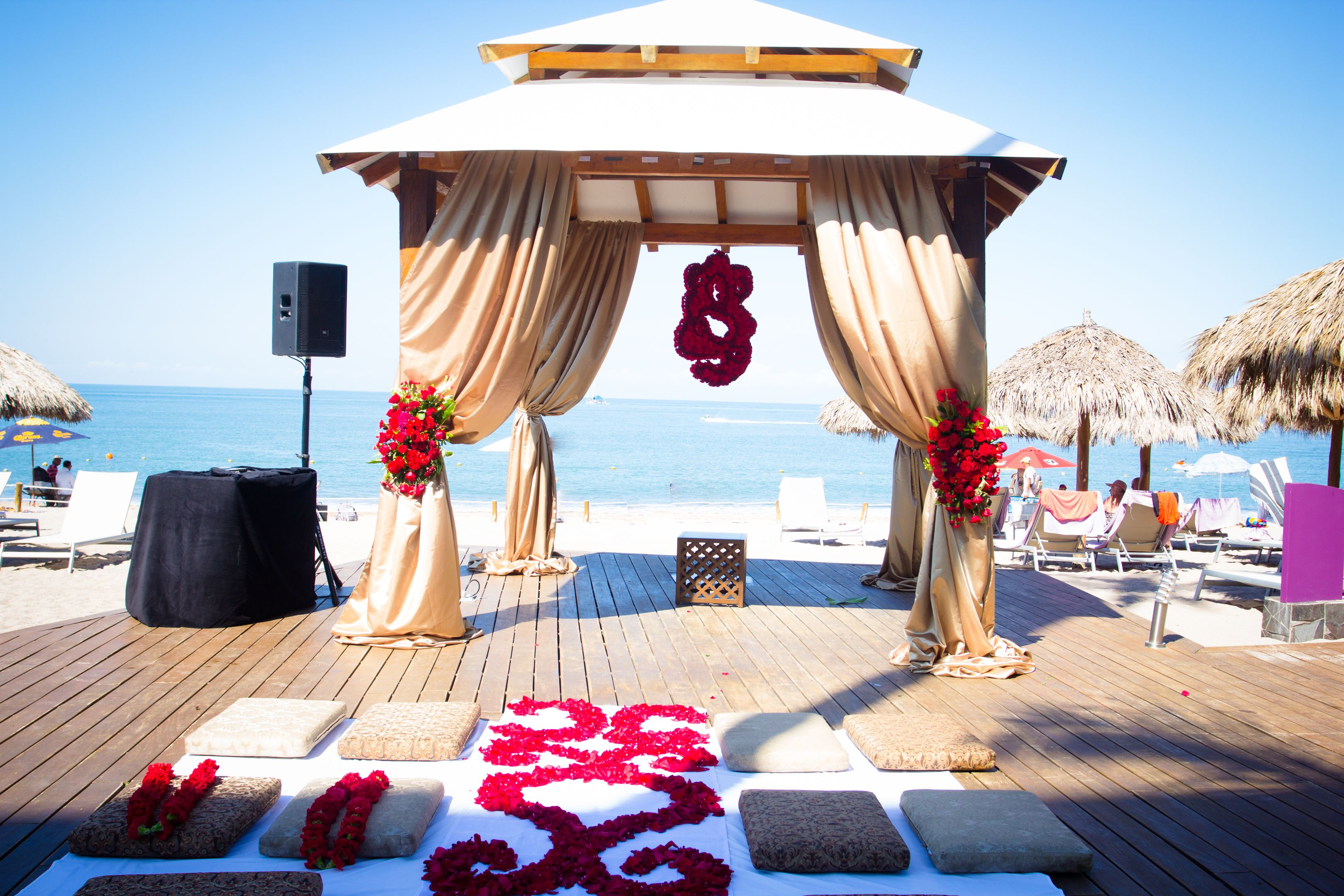 Secrets Vallarta Bay Puerto Vallarta - Your Secrets Wedding & The stunning gazebo #SecretsVallartaBay http://www.secretsresorts ...