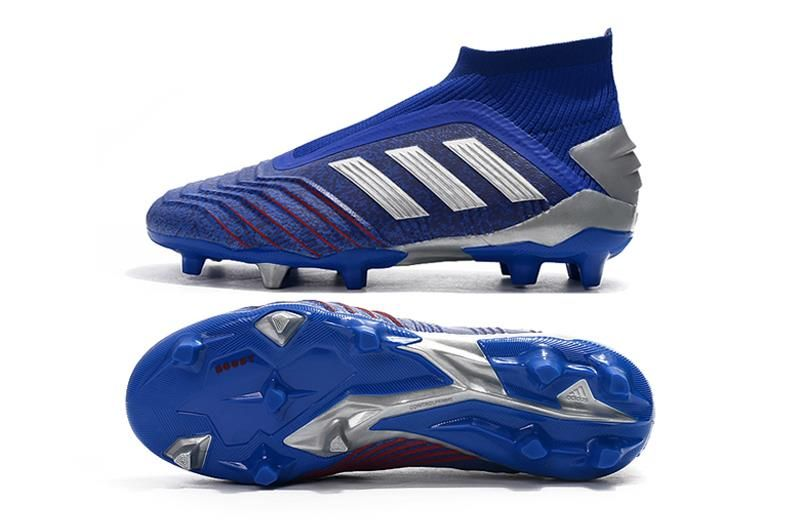 Juventud motor Revocación  Adidas Predator 19+ FG Zapatillas de Fútbol - Azul Plata | Zapatos de  futbol adidas, Adidas predator, Adidas