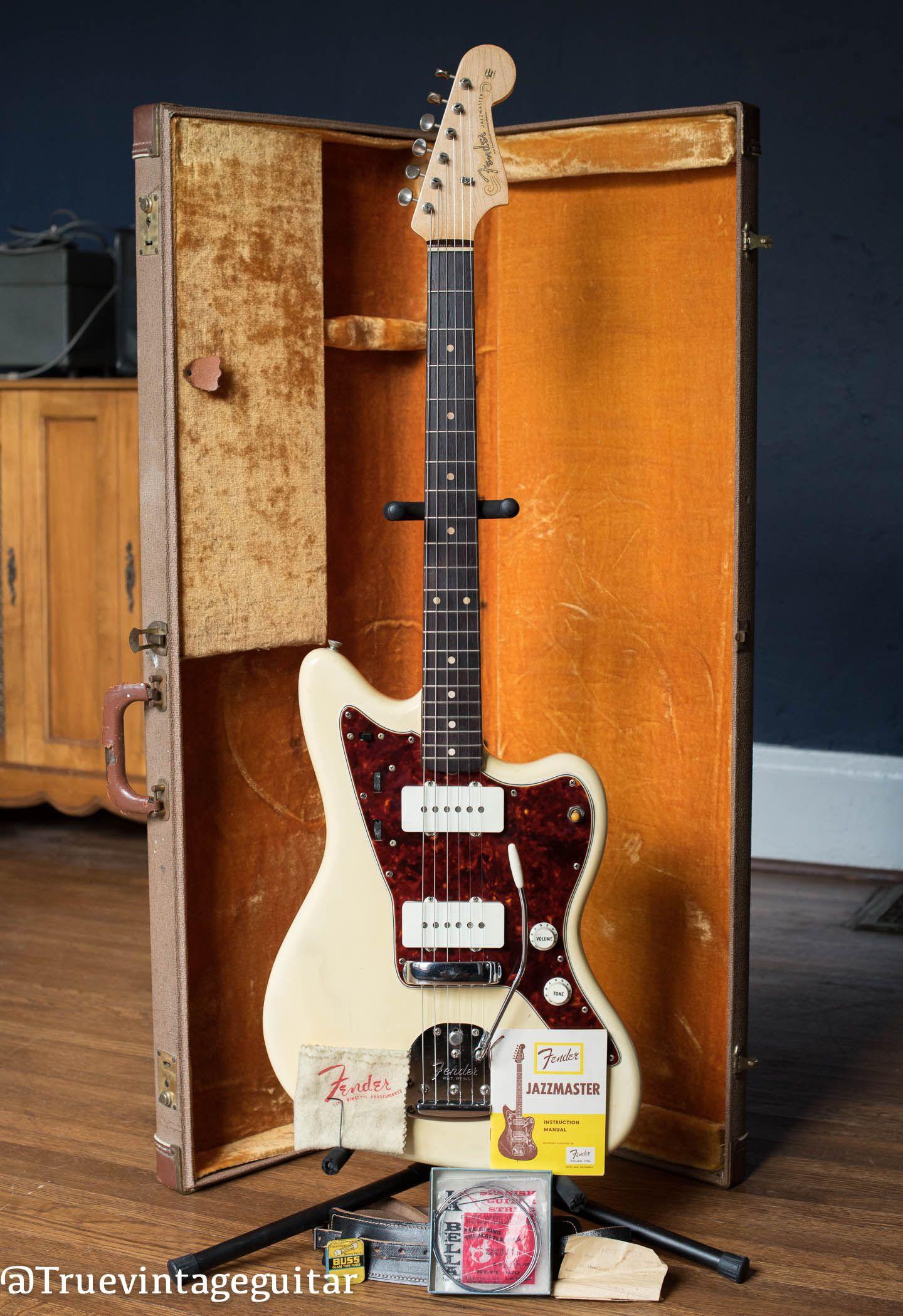 Fender Jazzmaster Manual Best 2018 Stratocaster Wiring Diagram 1960 Rare Original Factory 2224 2244 Power Lifier Service
