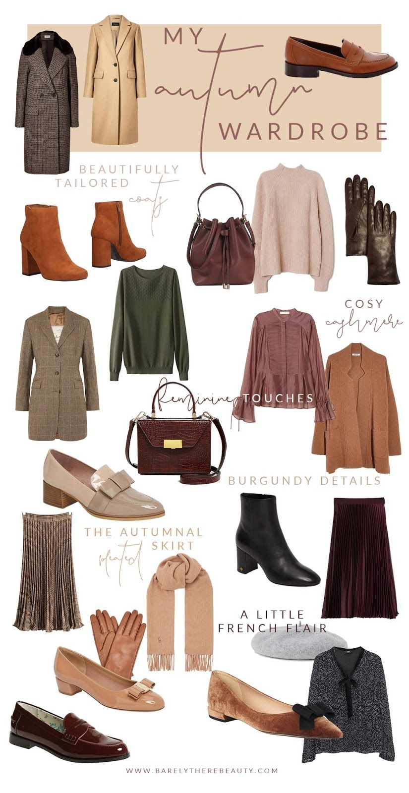 MY AUTUMN WARDROBE. in 2020 | Autumn fashion, Fashion ...