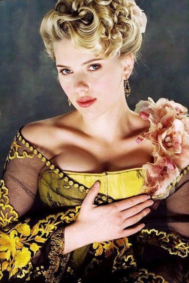 Scarlett johansson the prestige hair