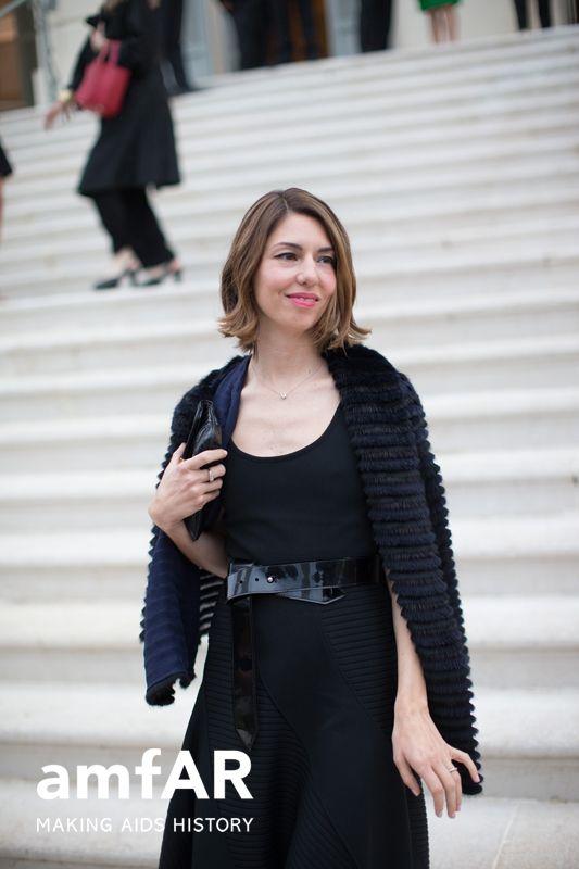 Sofia Coppola in Louis Vuitton and Fendi at Cannes 2014 | amfar.org