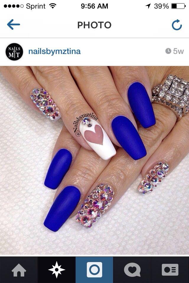 Matte Junk Nails Nails Nails Nails Pinterest Nail Nail