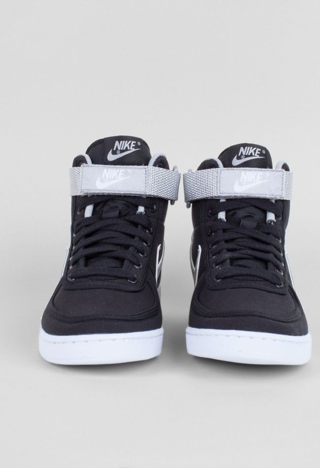 low cost 7d185 6ec37 Nike Vandal High SP Black Metallic Silver – Voo Store