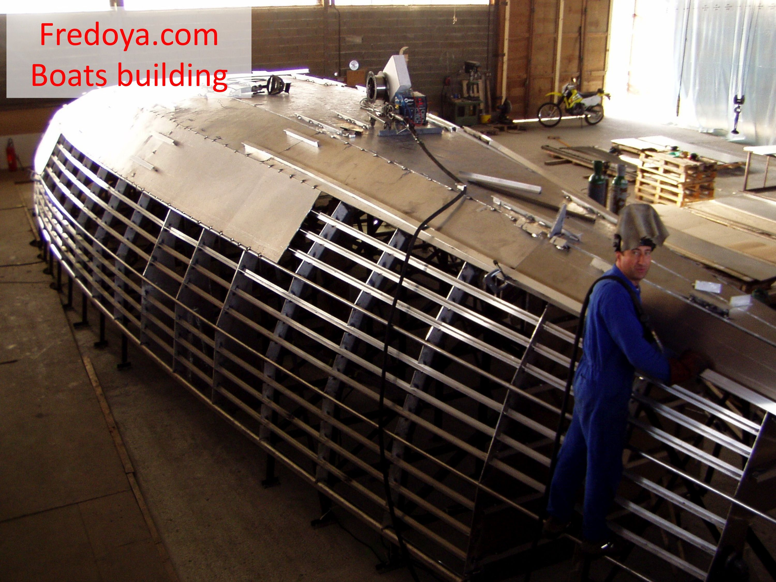 Afbeeldingsresultaat voor building aluminium sailboat ...