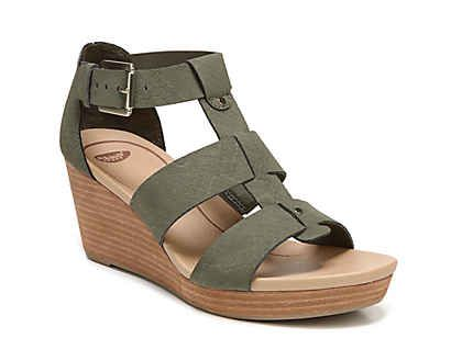 43a2d7b3fa Lucky Brand Kakina Wedge Sandal Women's Shoes | DSW | wedges | Shoes ...