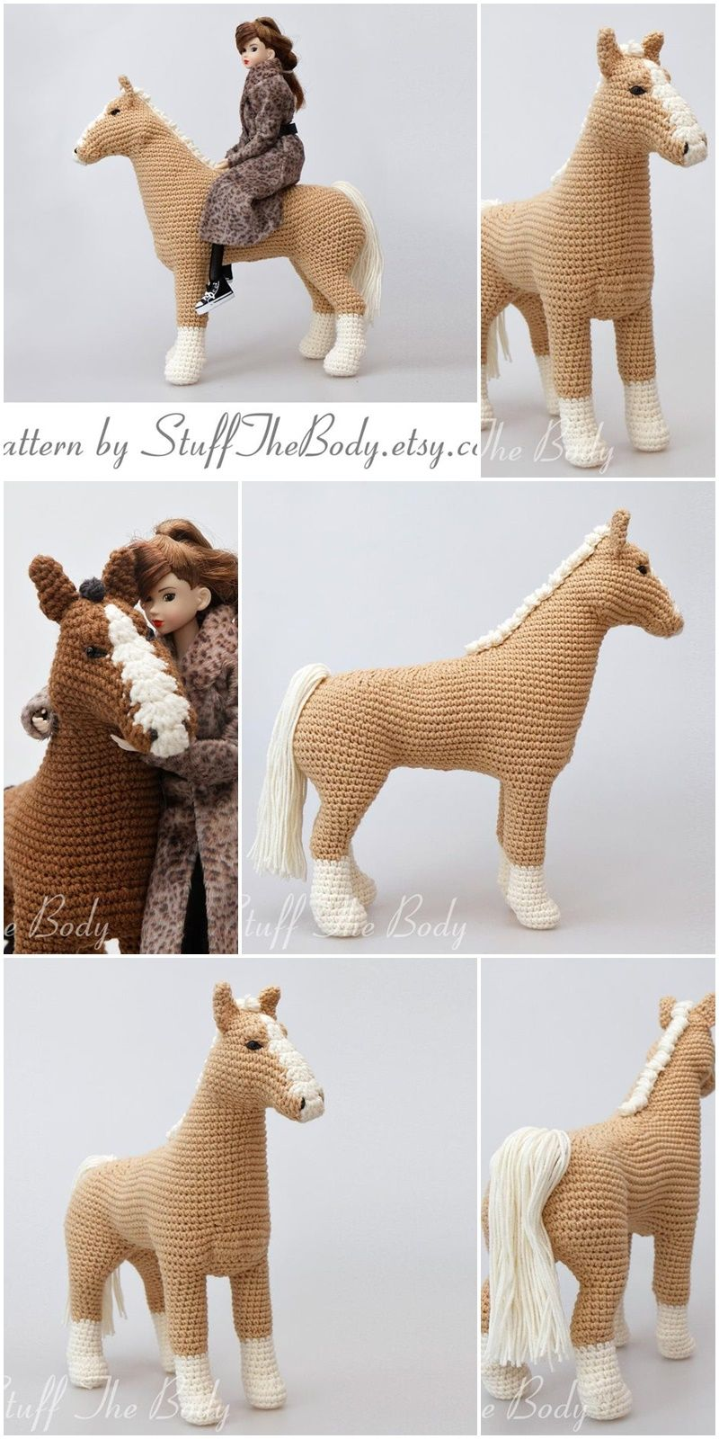 Amigurumi Crochet Horse Patterns - Amigurumi #horsepattern
