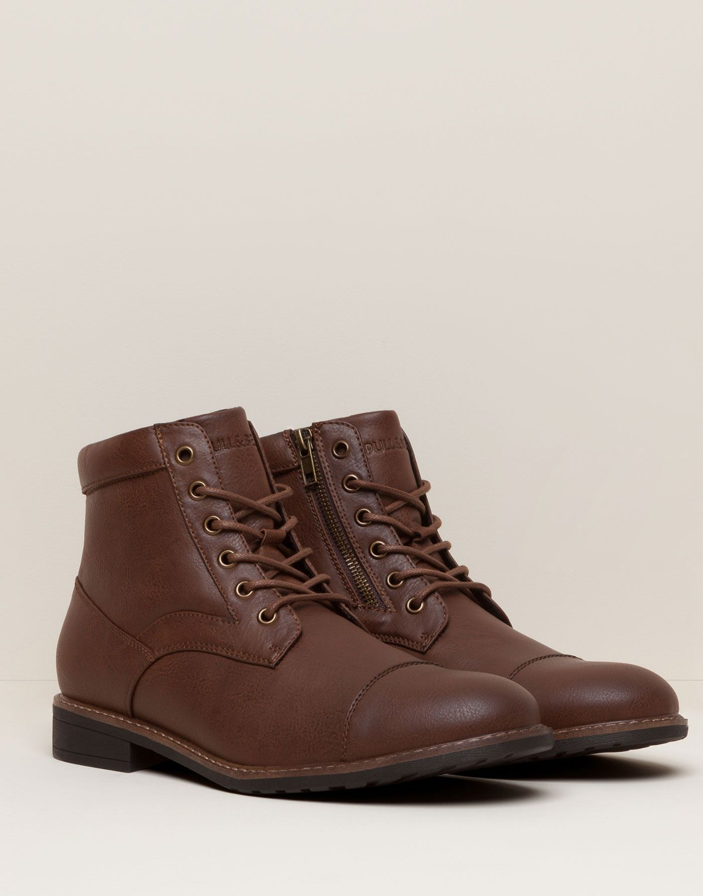 Worker Boots Men S Footwear Man Pull Bear Egypt