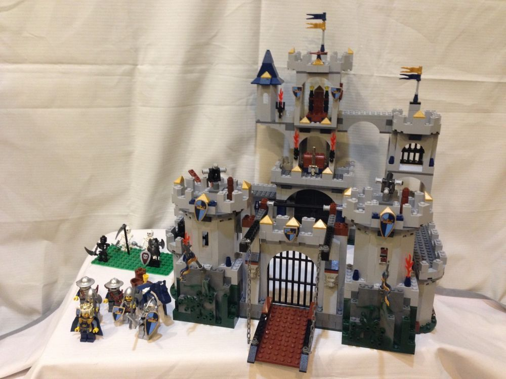 Lego Castle Kings Siege 7094 Complete In Excellent Condition W
