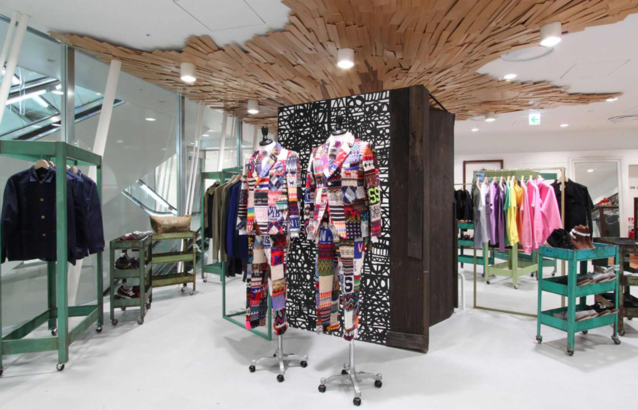 Dover street market ginzatokyojapan dsmg is an avant garde concept store that houses top designer collections pinned by ton van der veer