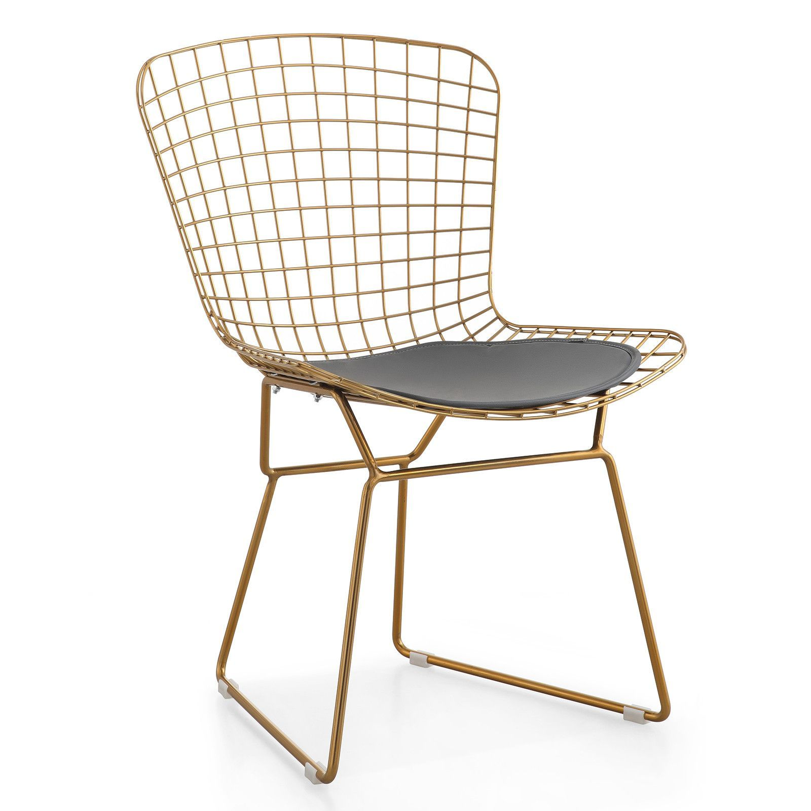 M38 Gold Wire Chair, Set Of Two (Color Options)