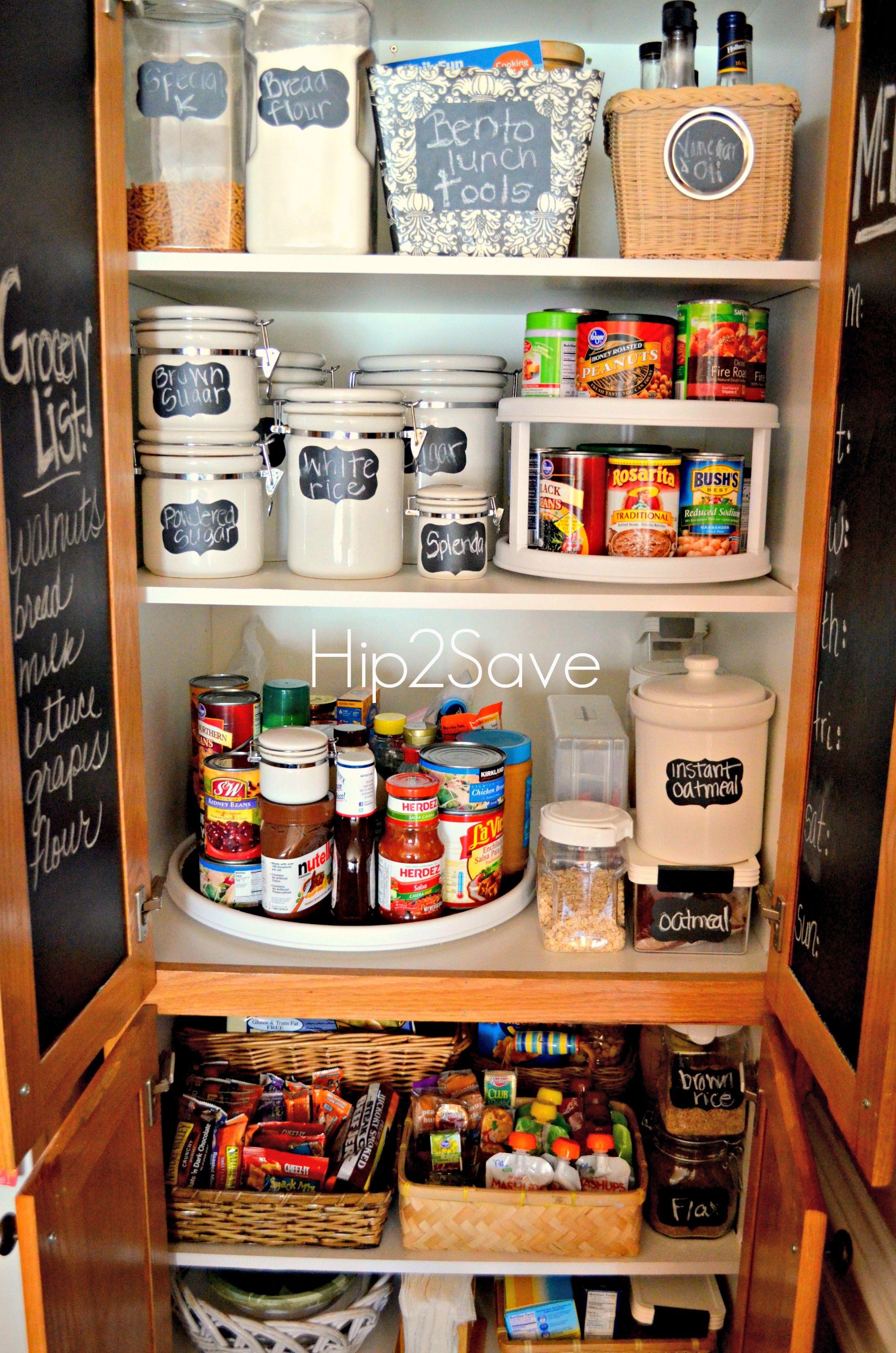 4 Simple Pantry Organization Tips Pantry Organisation