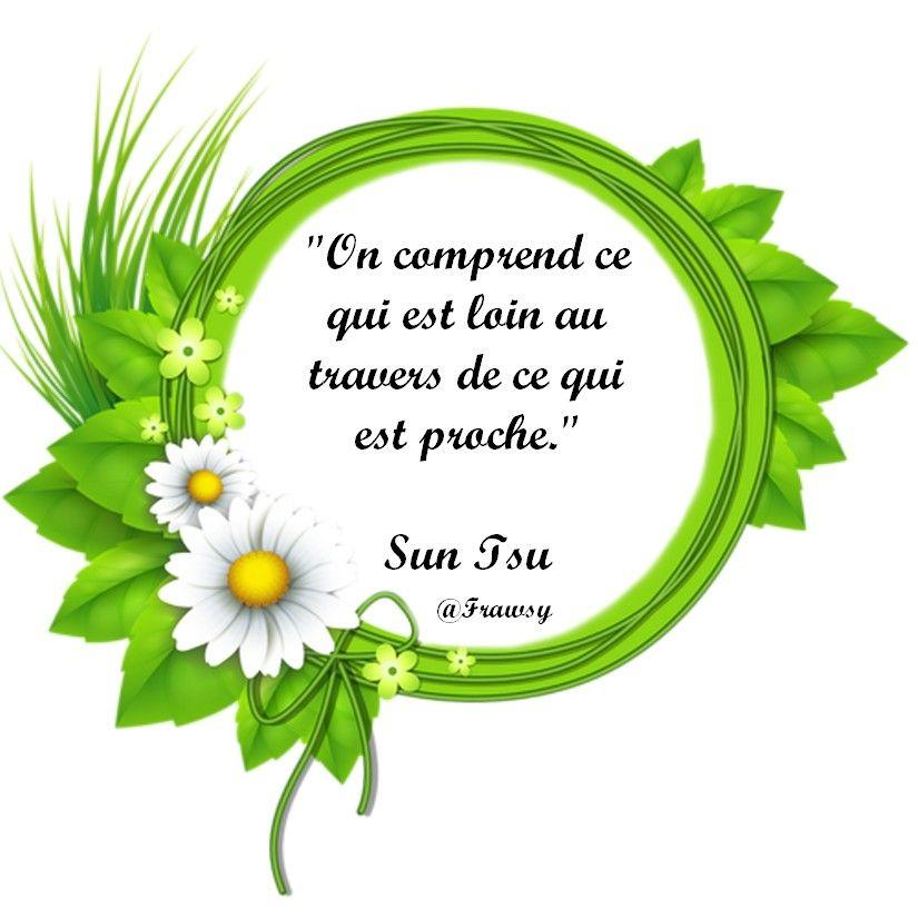 Citation de Sun Tsu - En Toute Simplicité avec texte - Frawsy