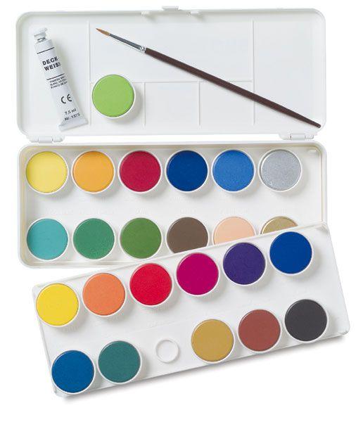 Grumbacher Watercolor Pan Sets Watercolor Pans Watercolor Tips