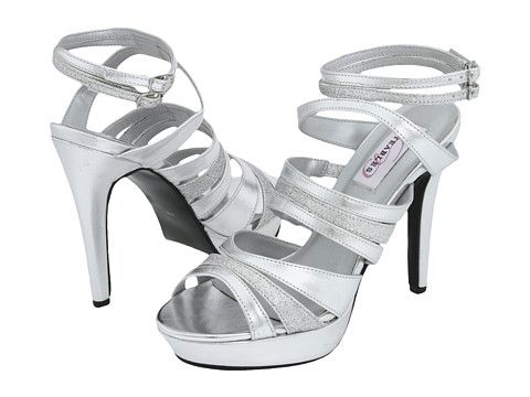 c94272178c3 Dyeables Anya Silver Metallic Glitter - Zappos.com Free Shipping BOTH Ways  more shoes for the girls