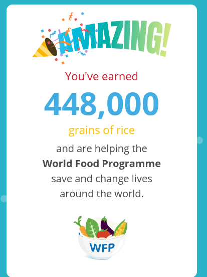 Beta Freerice World Food Programme Wfp Donation World Food Programme Food Program Food