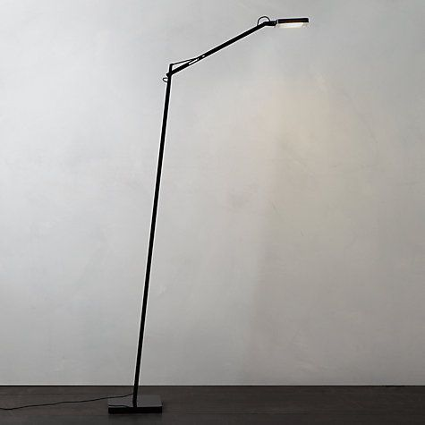 Flos Kelvin Led Floor Lamp: Buy Flos Kelvin LED Floor Lamp, Black Online at johnlewis.com,Lighting