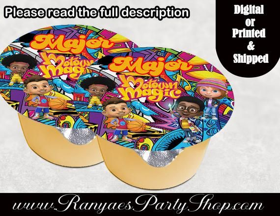 Motown Magic Kids\u2019 Birthday Party Plate Birthday MotownMagic Plate Character Party Supplies