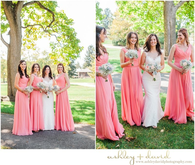Franklin Park Conservatory Wedding - Columbus, Ohio ; Pink ...