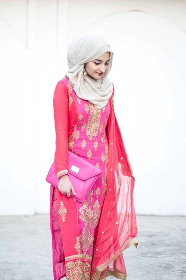 Hijab Fashion & Indian Style Blog | Hijab fashion, Fashion, Islamic fashion