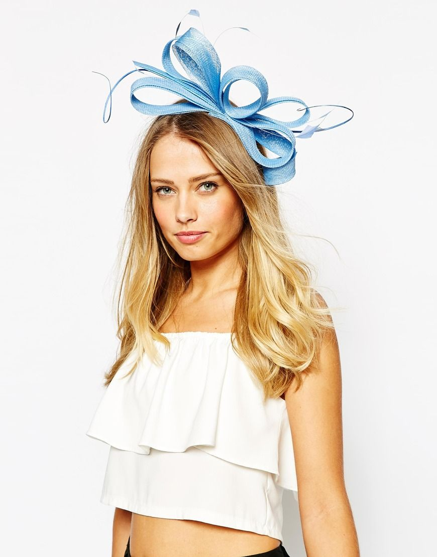 Image 1 of Coast Amelia Sky Blue Fascinator  ee9af296d4e