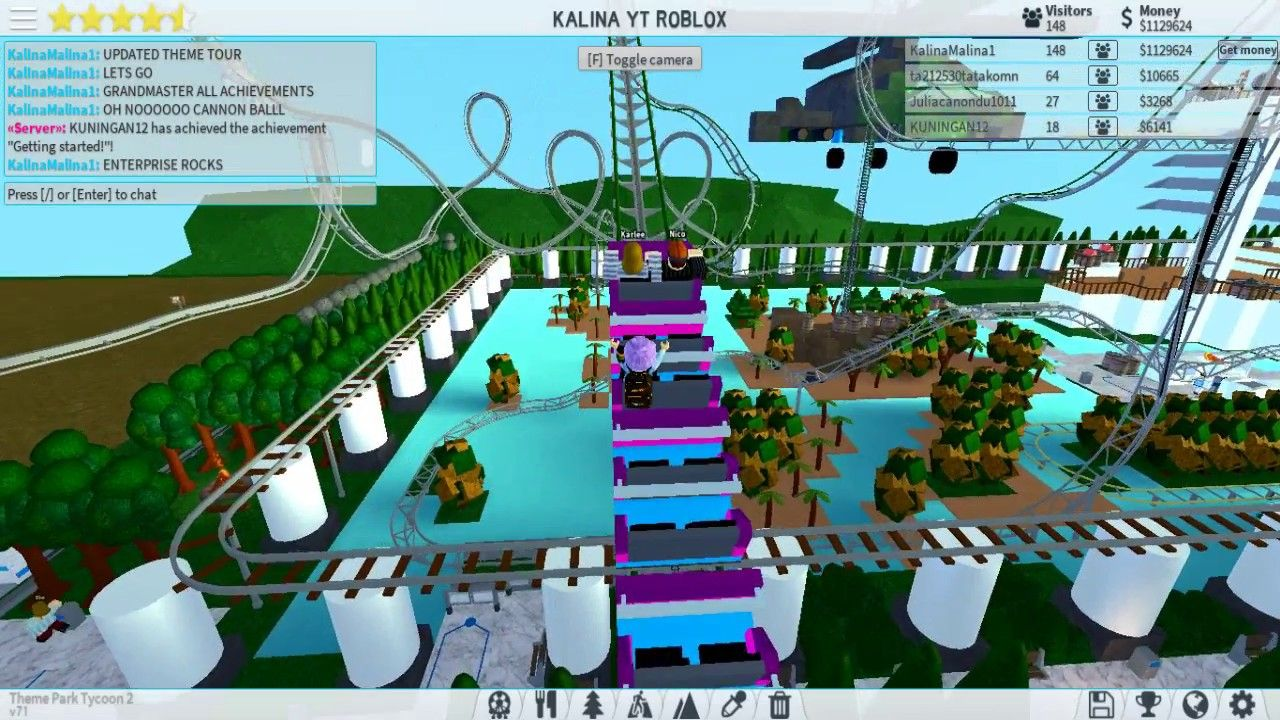 How To Make The Best Amusement Park Theme Park Tycoon 2 In Roblox 3 Achievement Museum Roblox Theme Park Tycoon 2 Park Updated How To Roblox Theme Park Park