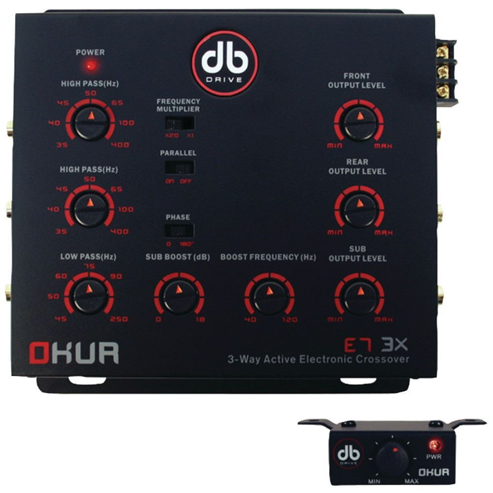 Db drive okur series 3 way active electronic crossover