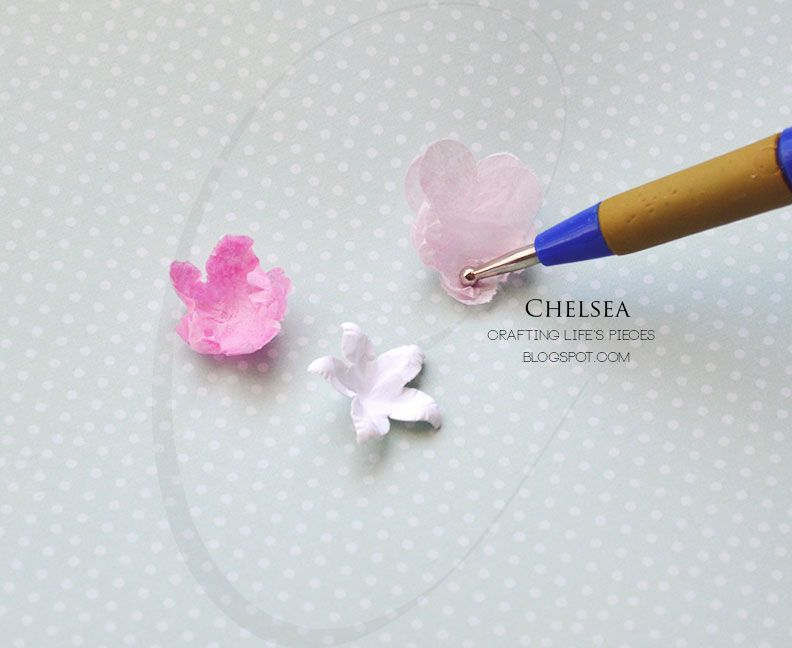 Crafting Life's Pieces: Fuchsia flower card and Tutorial