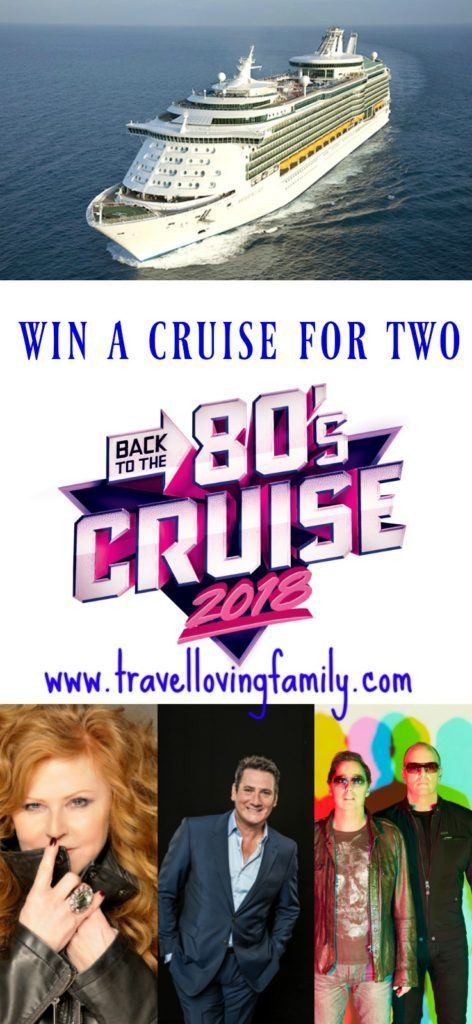 Chance to win a cruise for two people worth £5,000! If you have the cruising bug and loved the sounds of the 80's this giveaway is for you!  Two lucky people will be invited to pack their brightest leg warmers and biggest shoulder pads to sail to Spain and Portugal onboard Royal Caribbean's Navigator Of The Seas.  The week-long inaugural 'Back to the 80's' themed cruise will be the largest retro music cruise at sea with more than 100 performances by some of the 80's greatest legends.