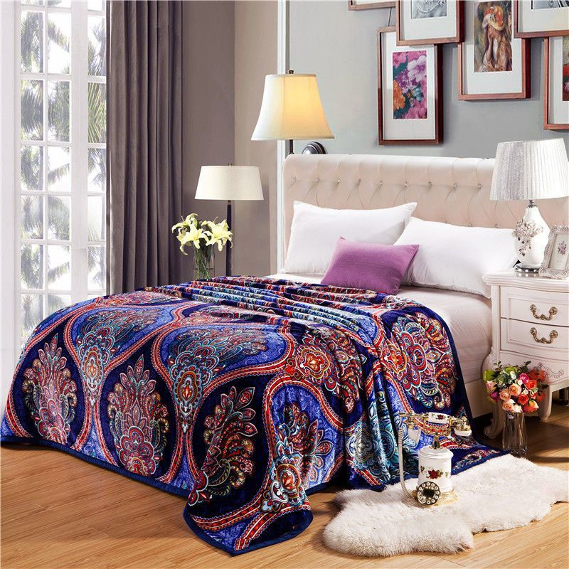 Soft blanket summer air conditioning blankets spring
