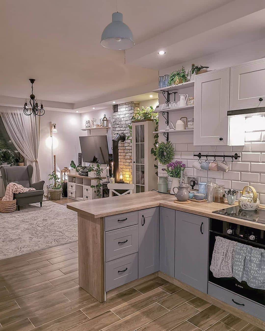 740 Decorating Ideas Small Kitchens In 2021 Kitchen Design Home