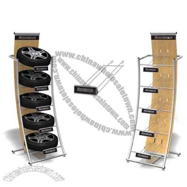 Exhibition Stand Wholesale : Tire display stand wholesale china