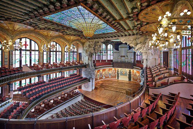 Palau de la m sica catalana barcelona barcelona europa e orquestra - Casas de musica en barcelona ...