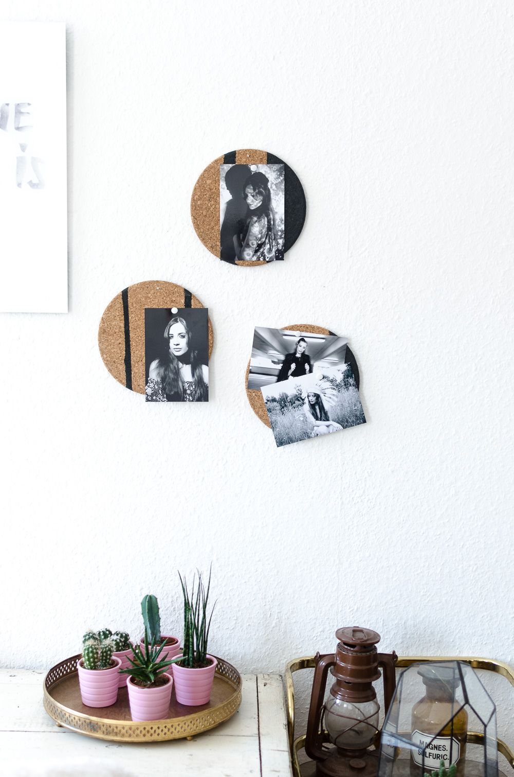 Pinnwand Kork Ikea diy foto pinnwand aus kork
