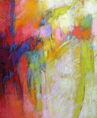 contemporary abstract pastels debora