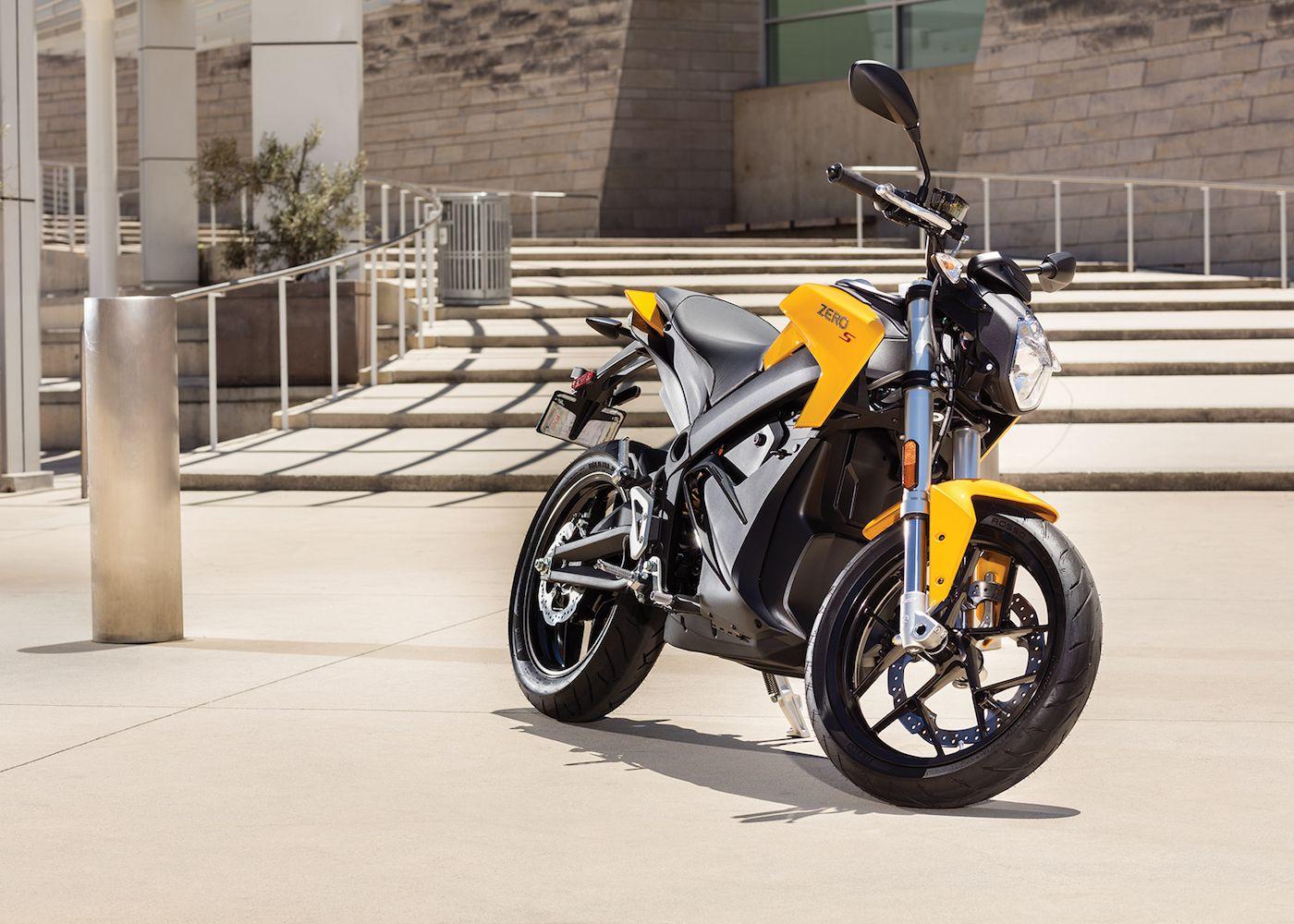 Zero S Latest Electric Motorcycles Boast 200 Mile Range