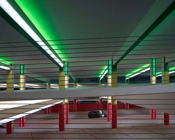 Garage Design Okc: Car Park One, Oklahoma City, By Elliott + Associates