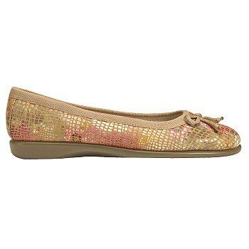 Women's Aerosoles Teashop Flat Orange Floral FamousFootwear.com