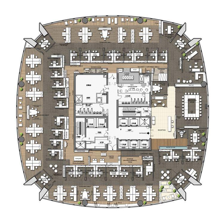 Pin By Chris Fan On Office Office Floor Plan Office Layout Plan Hotel Room Design Plan